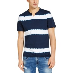 Inc Men's Striped Split Neck T-Shirt, Created for Macy's found on MODAPINS from Macys CA for USD $27.26