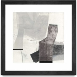 """Giant Art The City Walls Matted and Framed Art Print, 36"""" x 36"""""""
