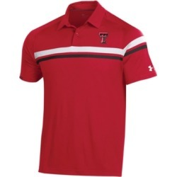 Under Armour Men's Texas Tech Red Raiders Tour Drive Polo found on Bargain Bro Philippines from Macy's for $43.00