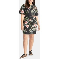 Rachel Rachel Roy Trendy Plus Size Floral-Print Short Sheath Dress found on MODAPINS from Macy's for USD $58.05
