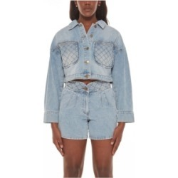 Women's Cropped Denim Jacket found on MODAPINS from Macy's for USD $95.00