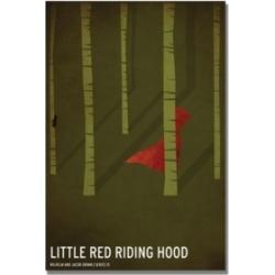 Christian Jackson 'Red Riding Hood' Canvas Art - 47