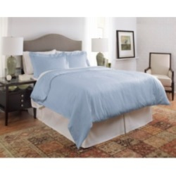 Pointehaven 450 Thread Count Dobby Cotton King/California King Duvet Set Bedding found on Bargain Bro from Macy's for USD $60.79