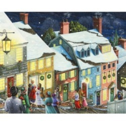 Springbok Puzzles Christmas Carolers 1000 Piece Jigsaw Puzzle found on Bargain Bro India from Macy's for $26.00