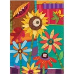 Holli Conger Floral Mix 2 Canvas Art - 15.5