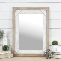 "Vip Home & Garden Antique 32"" Wood Mirror"