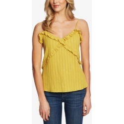 CeCe Ruffled Metallic-Striped Cami found on MODAPINS from Macy's Australia for USD $72.82