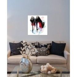"iCanvas ""Christian Louboutin Classic Heels"" by Rongrong DeVoe Gallery-Wrapped Canvas Print (26 x 26 x 0.75)"