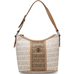 Giani Bernini Contrast Stripe Signature Hobo, Created for Macy's found on Bargain Bro Philippines from Macy's for $37.93