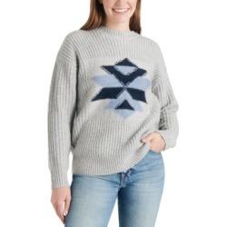 Lucky Brand Intarsia Graphic Sweater