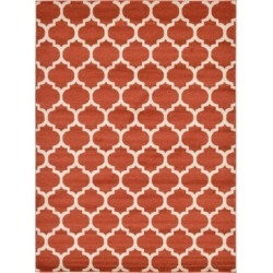 Bridgeport Home Arbor Arb1 Light Terracotta 8' x 11' Area Rug found on Bargain Bro India from Macy's for $244.50