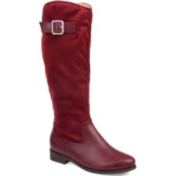 Journee Collection Women's Comfort Extra Wide Calf Frenchy Boot Women's Shoes found on Bargain Bro Philippines from Macy's for $78.00