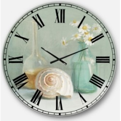 Designart Nautical and Beach Oversized Metal Wall Clock found on Bargain Bro Philippines from Macy's Australia for $211.11