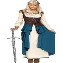 Buy Seasons Women's Viking Queen Costume