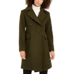 Anne Klein Double-Breasted Coat found on MODAPINS from Macy's for USD $107.93