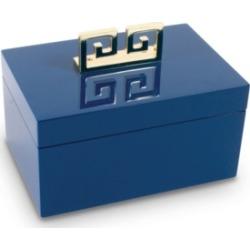Blue Lacquer Jewelry Box