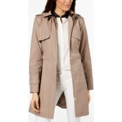 Cole Haan Hooded Belted Trench Coat found on MODAPINS from Macys CA for USD $127.13