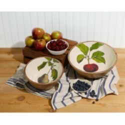 Two's Company Farm to Table Bowls, Set of 2
