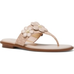 Michael Michael Kors Nellie Thong Sandals Women's Shoes found on Bargain Bro Philippines from Macy's Australia for $122.41