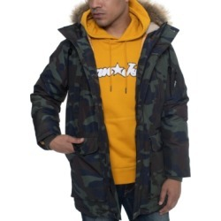Sean John Men's Faux Fur Trimmed Multi Pocket Parka found on MODAPINS from Macys CA for USD $205.63