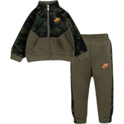 Nike Baby Boys Light Grey Camo Set found on Bargain Bro India from Macy's for $32.99