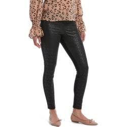 Hue Women's Lace-Illusion-Front Leggings