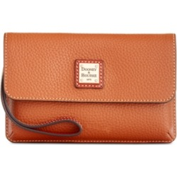 Dooney & Bourke Milly Pebble Leather Wristlet found on Bargain Bro India from Macy's for $64.80