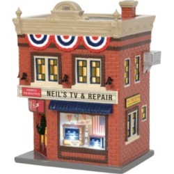 Department 56 Villages Neil's Tv & Repair