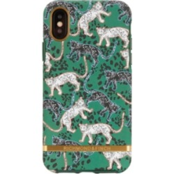 Richmond & Finch Green Leopard Case for iPhone Xs Max
