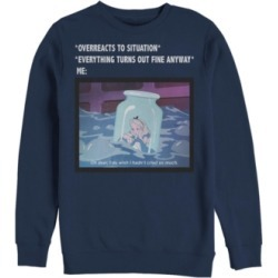 Fifth Sun Men's Anxiety Meme Long Sleeve T-Shirt found on MODAPINS from Macy's for USD $44.95