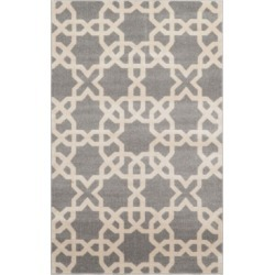 Bridgeport Home Arbor Arb5 Gray 5' x 8' Area Rug found on Bargain Bro India from Macy's for $194.00