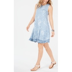 Style & Co Printed Swing Dress, Created for Macy's found on Bargain Bro India from Macys CA for $51.87