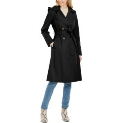 Via Spiga Double-Breasted Trench Coat found on MODAPINS from Macys CA for USD $105.58