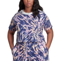 adidas Originals Plus Size Cropped T-Shirt found on MODAPINS from Macy's for USD $30.00