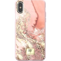 Richmond & Finch Pink Marble Gold Case for iPhone Xs Max