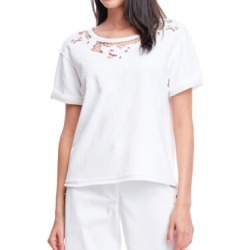Fever Embroidered Cut-Out Sweatshirt found on MODAPINS from Macys CA for USD $60.86