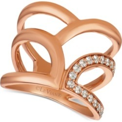 Le Vian Nude Diamonds Statement Ring (1/3ct. t.w.) in 14k Rose Gold found on Bargain Bro India from Macy's for $794.15