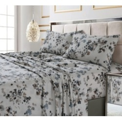 Lisbon Printed 300 Tc Cotton Sateen Extra Deep Pocket Sheet Set Cal King Sheet Set Bedding found on Bargain Bro Philippines from Macy's for $176.00