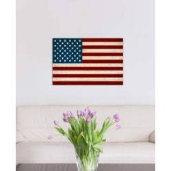 """iCanvas """"Usa Flag (U.s. Constitution Background)"""" by iCanvas Gallery-Wrapped Canvas Print"""