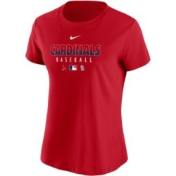 Nike St. Louis Cardinals Women's Authentic Baseball T-Shirt found on Bargain Bro India from Macy's for $35.00