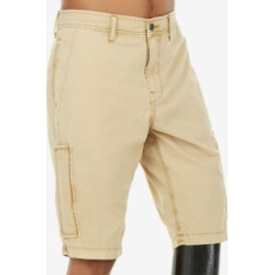 True Religion Men's Mojave Brown Cargo Shorts found on MODAPINS from Macy's for USD $104.30