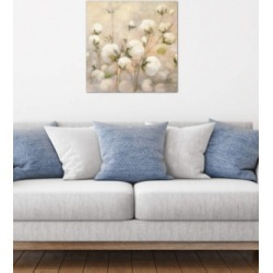 "iCanvas ""Cotton Field, Close Up"" by Julia Purinton Gallery-Wrapped Canvas Print (26 x 26 x 0.75)"
