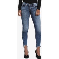 Silver Jeans Co. Tuesday Raw-Hem Skinny Jeans found on MODAPINS from Macy's Australia for USD $94.13