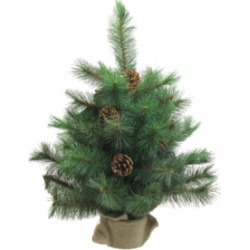 Northlight 2' Royal Oregon Pine Artificial Christmas Tree in Burlap Base - Unlit found on Bargain Bro India from Macy's Australia for $41.27