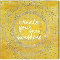 Oliver Gal Your Own Sunshine Canvas Art, 36