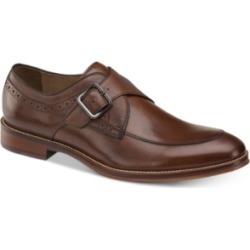 Johnston & Murphy Men's Conrad Embossed Monk-Strap Loafers Men's Shoes