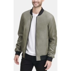 Dkny Men's Soft Faux-Leather Bomber Jacket, Created for Macy's found on Bargain Bro Philippines from Macy's for $95.99
