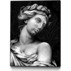 "Giant Art 40"" x 30"" Ornate Sculpture I Art Block Framed Canvas"