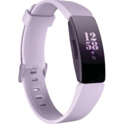 Fitbit Inspire Hr Lilac Strap Activity Tracker 16.4mm found on Bargain Bro India from Macy's for $99.95