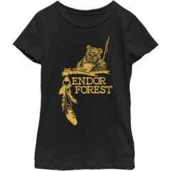 Fifth Sun Star Wars Big Girl's Ewok Endor Forest Short Sleeve T-Shirt found on Bargain Bro India from Macys CA for $23.08